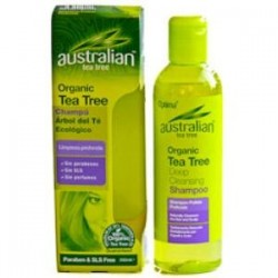 AUSTRALIAN TEA TREE CHAMPU 250ml.,MADALBAL