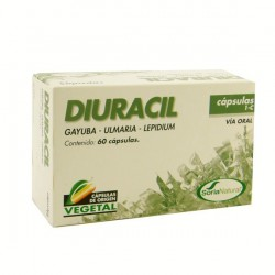 CAP. 1-C DIURACIL 400MG,   SORIA NATURAL