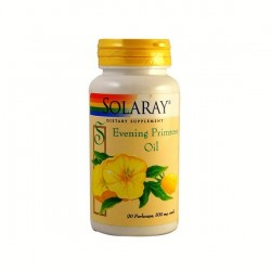 EVENING PRIMROSE OIL,  90 PERLAS (ACEITE DE PRIMULA), SOLARAY