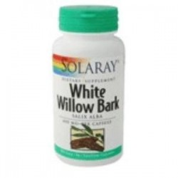 WHITE WILLOW BARK (Sauce) 100 CAPSULAS,SOLARAY