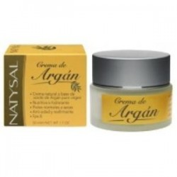CREMA NATURAL DE ARGAN fps 8 50ml.,NATYSAL