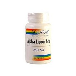 ALPHA LIPOIC 60 CAP 250MG SOLARAY