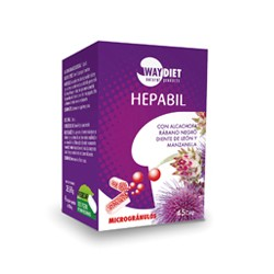 HEPABIL, Depurativo hepatico, WAY DIET
