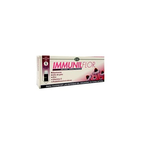IMMUNILFLOR MINI DRINK 12VIALESº TREPAT