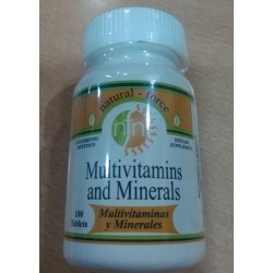MULTIVITAMINAS Y MINERALES, NATURAL FORCE