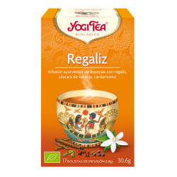 REGALIZ, YOGI TEA