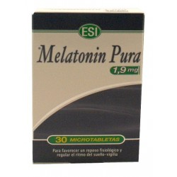 MELATONINA PURA 1.9 MG, 30 Tabletas, ESI
