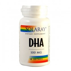 DHA NEUROMINS 30PERLAS 100mg., SOLARAY