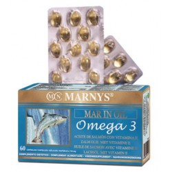 ACEITE DE SALMON MAR-INOIL, OMEGA 3, MARNYS