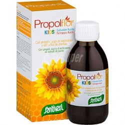 PROPOLFLOR KIDS JARABE, 200 ML, SANTIVERI