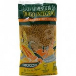 FIDEO CABELLO DE ANGEL DE TRIGO INTEGRAL 250 GR, BIOCOP