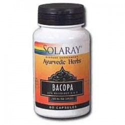 BACOPA 100mg 60 CAPSULAS,SOLARAY