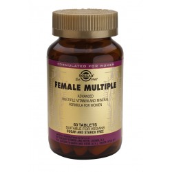 FEMALE MULTIPLE, SOLGAR, 120 COMP (Vitaminas para la mujer)