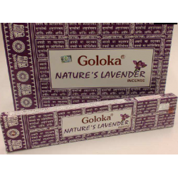 INCIENSO GOLOKA NATURE LAVENDER