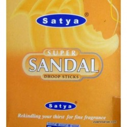 INCIENSO SUPER SANDAL, SATYA 20 GR.