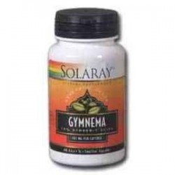 GYMNEMA 385mg. 60 CAPSULAS,SOLARAY