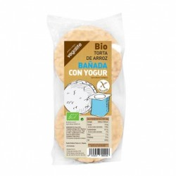 TORTAS DE ARROZ CON YOGUR NATURAL 100 GR, VEGALIFE