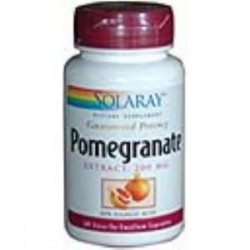 POMEGRANATE GRANADA 200mg. 60 CAPSULAS,SOLARAY