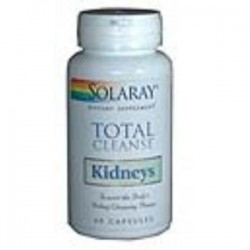 TOTAL CLEANSE KIDNEY 60 CAPSULAS,SOLARAY
