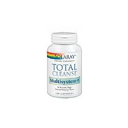TOTAL CLEANSE MULTISYSTEM - 120 CAPSULAS,SOLARAY