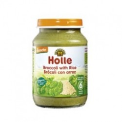 POTITO DE BROCOLI Y ARROZ INTEGRAL 190 GR, HOLLE