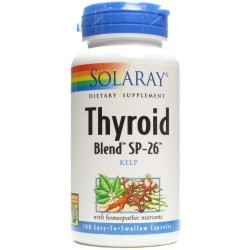 THYROID BLEND KELP, SOLARAY