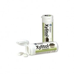CHICLES XYLITOL SABOR TE VERDE MIRADENT , XILITOL
