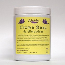 Crema Base Almendras 500ml. , ALEIDA