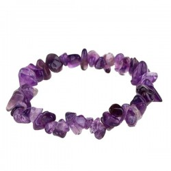Amatista  Pulsera Chip