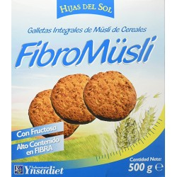 GALLETAS  FIBROMUESLI  CHOCOLATE HIJAS DEL SOL