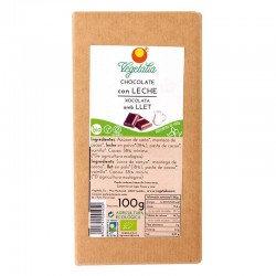 CHOCOLATE  CON LECHE BIO VEGETALIA