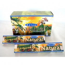 INCIENSO NATURAL , Satya   15 gr.