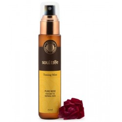TONICO FACIAL ROSA piel normal y seca , SOULTREE