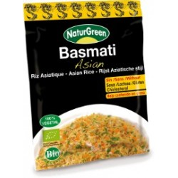 BASMATI ASIAN, NATURGREEN, 6 sobres
