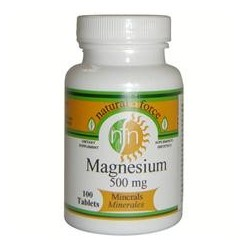 MAGNESIO 500mg 100comp, NATURAL FORCE