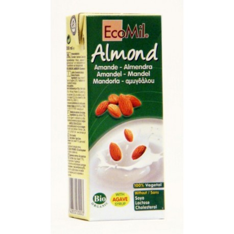 BEBIDA ALMOND, ECOMIL, 200ml.