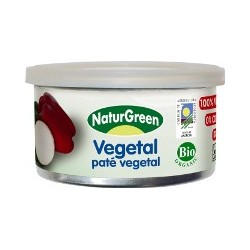 PATE VEGETAL, NATURGREEN, tarrina 125g.