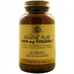 ESTER C PLUS 1000MG 90COMP SOLGAR