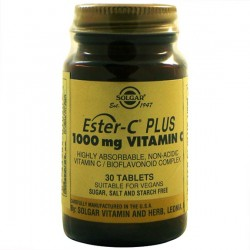 ESTER C PLUS 1000MG 30COMP SOLGAR