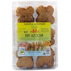 GALLETAS INTEGRALES SIN AZUCAR, VEGETALIA