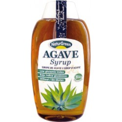SIROPE DE AGAVE, NATURGREEN, 500 ml.