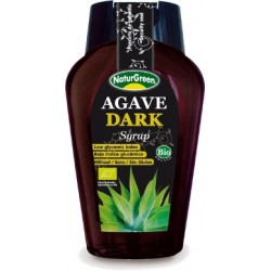 SIROPE DE AGAVE DARK, NATURGREEN, 360 ml.