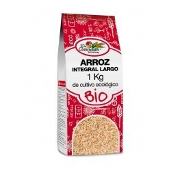 ARROZ INTEGRAL LARGO BIO, EL GRANERO INTEGRAL, 1 Kg.