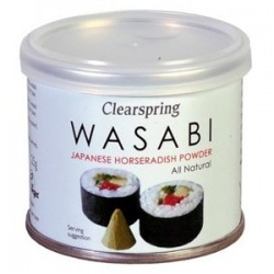 WASABI POLVO 25GR CLEARSPRING