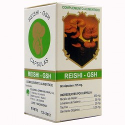 REISHI GSH 60 CAP GOLDEN GREEN