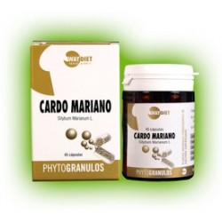 CARDO MARIANO, WAY DIET.   (Fitogranulos)