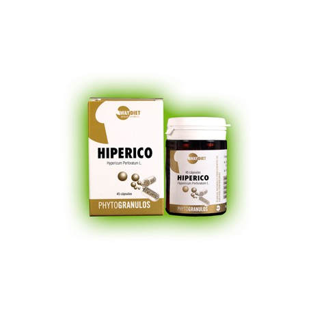 HIPERICO,   WAY DIET,   (Fitogranulos)