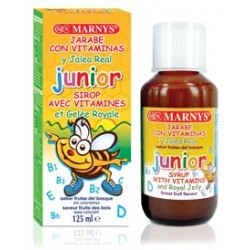 JARABE JUNIOR MULTIVITAMINICO CON JALEA REAL 125 ML  MARNYS