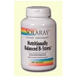 NUTRITIONALLY BALANCED B-STRESS - 100 CAPSULAS,SOLARAY