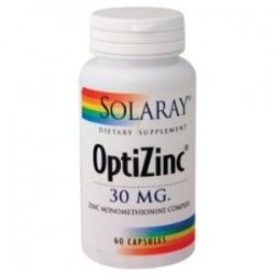 OPTIZINC 60 CAPSULAS,SOLARAY